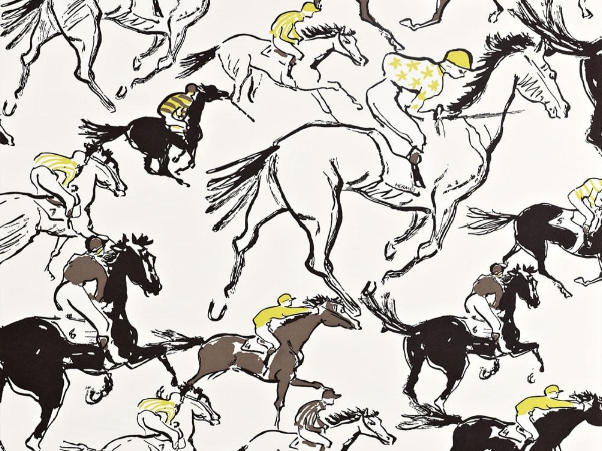Papier peint Hermès Finish