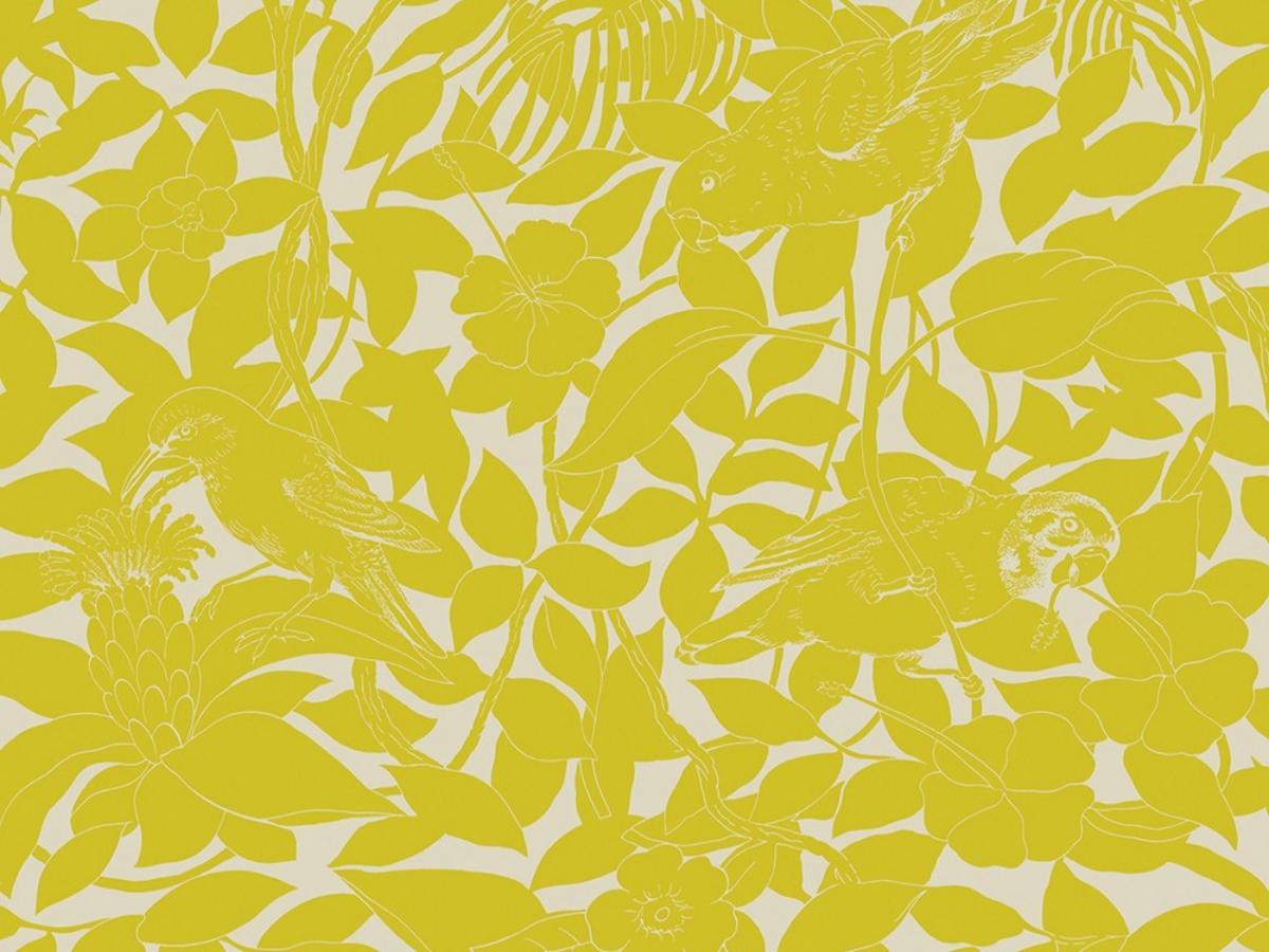 Papier peint Hermès Jungle Life Bicolore