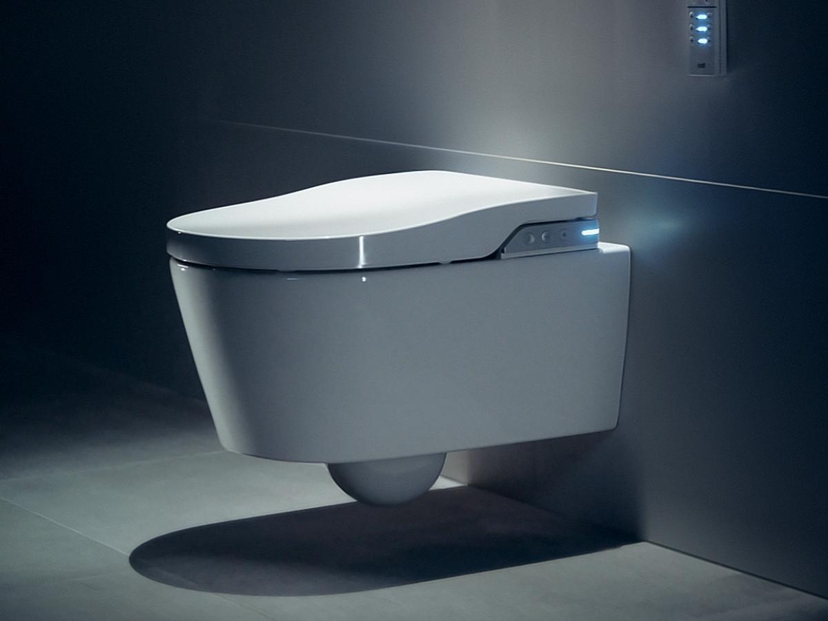 WC japonais suspendu