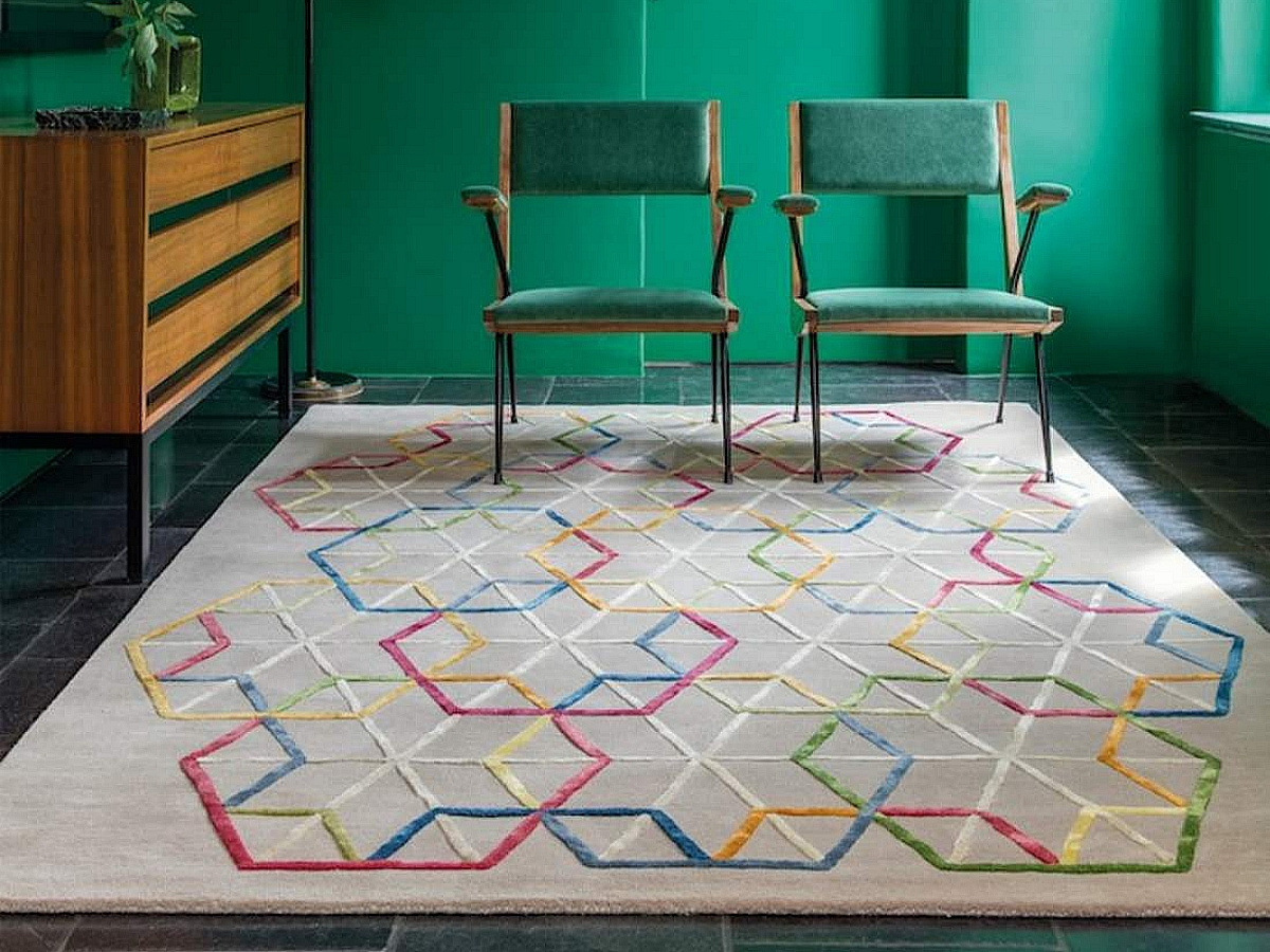 Tapis Ligne Pure Hexagon