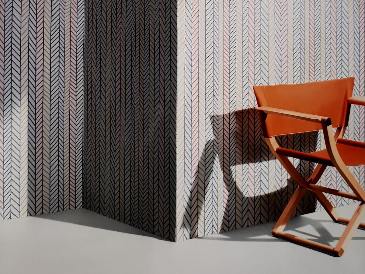 Papier peint Hermès Herringbone