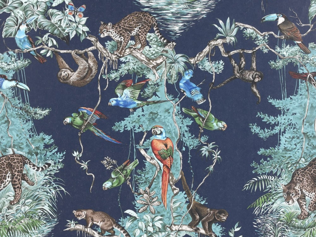 Papier peint Hermès Equateur
