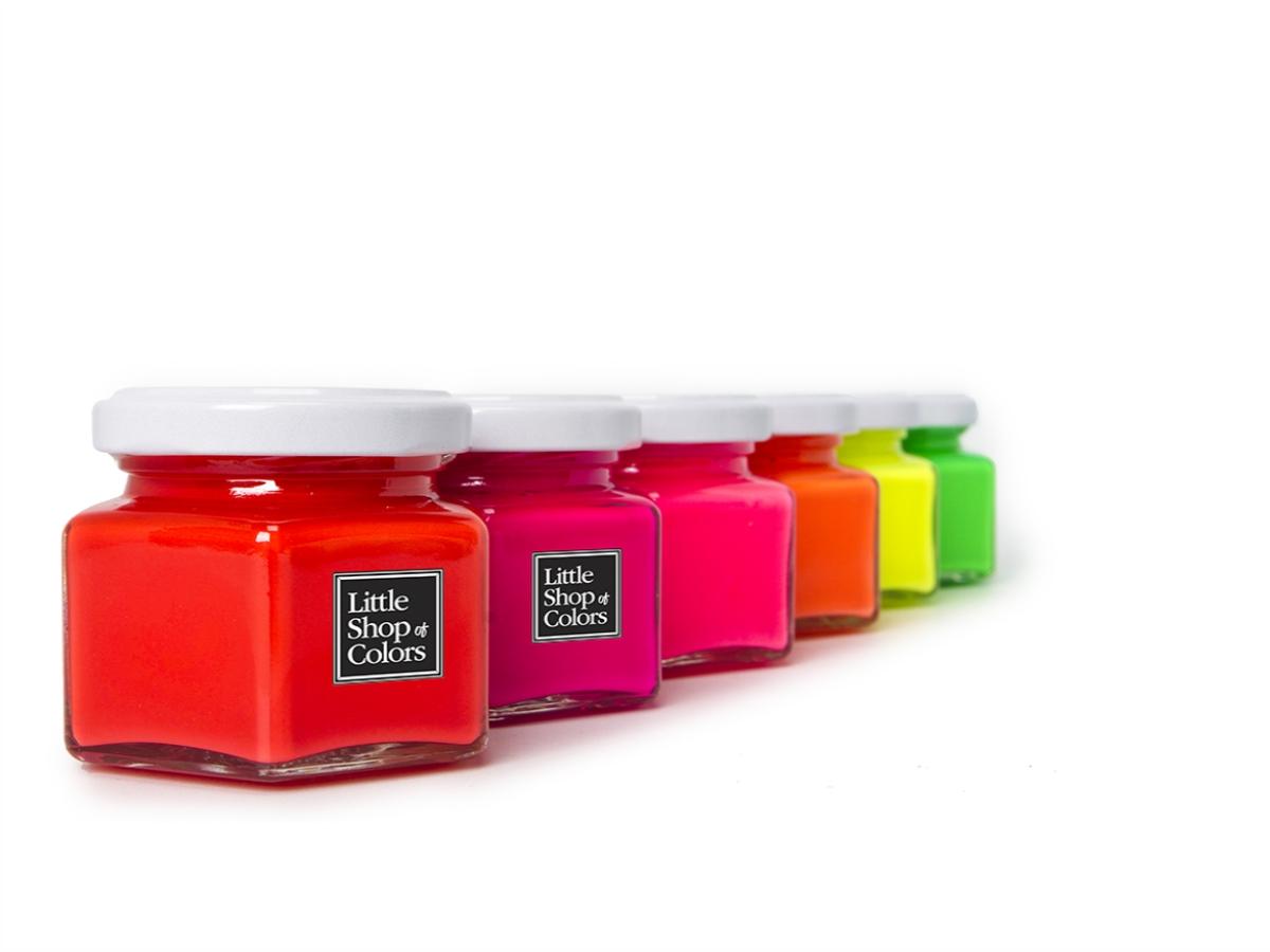 Peinture Little Shop Fluo
