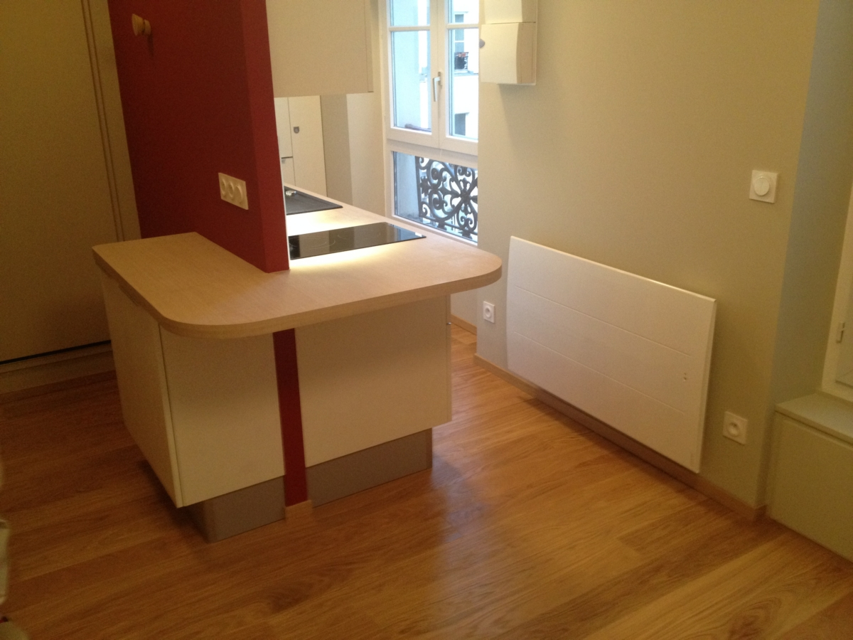 Rénovation appartement à Paris - après