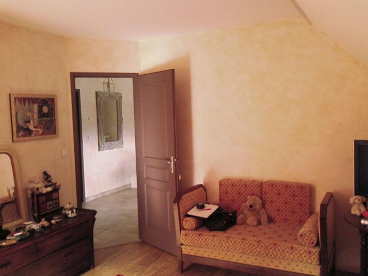 Décoration d'une chambre - avant